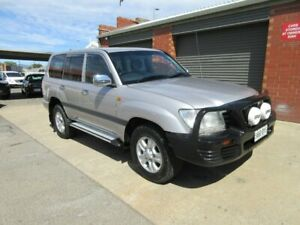 2002 Toyota Landcruiser HDJ100R GXL (4x4) Silver 5 Speed Manual 4x4 Wagon Gilles Plains Port Adelaide Area Preview