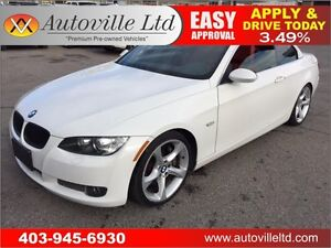 2009 BMW 335i CONVERTIBLE HARD TOP 90 DAYS NO PAYMENTS!