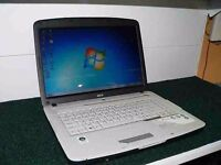 Acer Laptop with charger, wireless , only 60....cheap