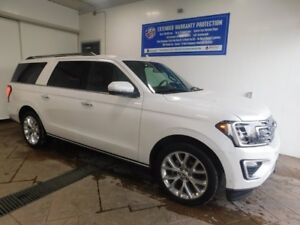2018 Ford Expedition Limited Max 4WD LEATHER NAVI SUNROOF 8 PASS