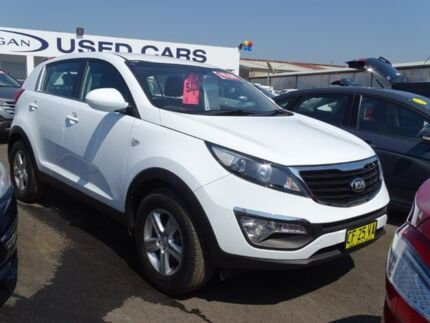 2015 Kia Sportage SL MY15 Si 2WD White 6 Speed Sports Automatic Wagon Albion Park Rail Shellharbour Area Preview
