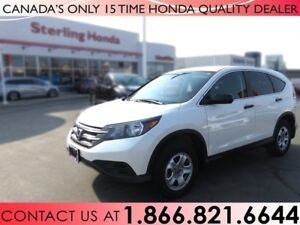 2014 Honda CR-V LX | 1 OWNER | NO ACCIDENTS