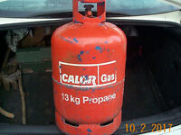 13 kg Propane gas bottle, empty. Collect from Pontardawe SA8..