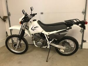 Honda XR650L,  semi-route semi-trail
