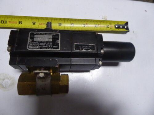 B412 Gemini Valve Pneumatic Actuator New