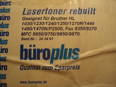 Brother Rebuilt Laser Toner (Lasertoner rebuilt für brother 1030/1230/1240/1250/1270N/1440/1450/1470N/P2500 u)