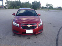 2012 Chevrolet Cruze LT Turbo, Sunroof, Alum. Wheels!!