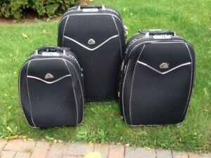 3 pc set - Travel Express Luggage (Black)