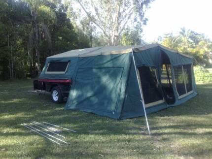 Swag camper trailer