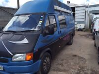 Ford Transit LWB High Top Campervan - fully equipped