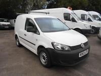 Volkswagen Caddy 1.6 TDI 75PS VAN DIESEL MANUAL WHITE (2013)