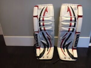 goalie pads and chest protectors