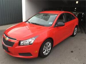 2014 Chevrolet Cruze LS automatic and A/C Bluetooth