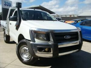 2012 Ford Ranger PX XL White 6 Speed Sports Automatic Cab Chassis Enfield Port Adelaide Area Preview