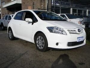 2010 Toyota Corolla ZRE152R MY10 Ascent White 4 Speed Automatic Hatchback Wangara Wanneroo Area Preview
