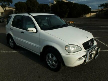2003 Mercedes-Benz ML W163 270 CDI (4x4) White 5 Speed Auto Tipshift Wagon Maidstone Maribyrnong Area Preview