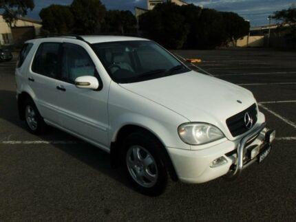2003 Mercedes-Benz ML W163 270 CDI (4x4) White 5 Speed Auto Tipshift Wagon Maidstone Maribyrnong Area Preview