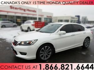 2014 Honda Accord SPORT   1 OWNER   NO ACCIDENTS   CERTIFIED