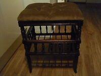 victorian/edwardian stool