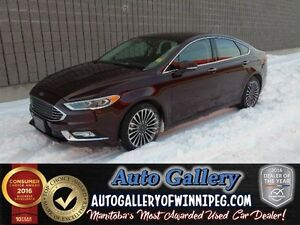 2017 Ford Fusion SE*AWD/Lthr/Roof/Nav