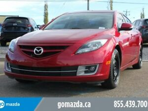 2013 Mazda Mazda6 GT-V6 LEATHER SUNROOF HEATED SEATS 2 SETS OF T