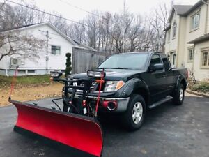 2008 Nissan Frontier 4X4 with Boss Plow for Sale