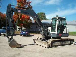 Swing into Spring with a Terex Excavator
