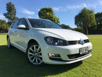 2013 Volkswagen Golf VII 103TSI DSG Highline White 7 Speed Sports Automatic Dual Clutch Hatchback Somerton Park Holdfast Bay Preview