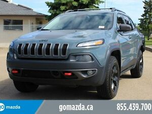 2015 Jeep Cherokee Trailhawk V6 LEATHER SUNROOF NAVI