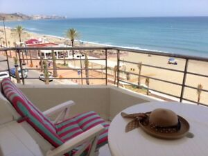 Costa del Sol Spain Beachfront Beautiful 2bd 2 bth Apartment