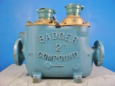 Badger Meter Recordall Compound Series 2 Hospital Industrial Grade