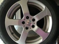 FALKEN WINTER TIRES AND FAST RIMS
