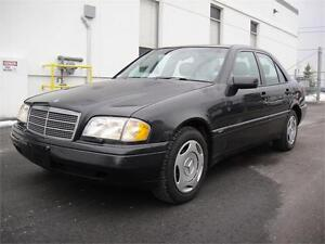 1997 MERCEDES C280 SPORT-FULLY LOADED LEATHER SUNROOF ALL POWER
