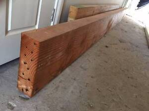 Recycled Oregon Timber beams for sale Dudley Lake Macquarie Area Preview