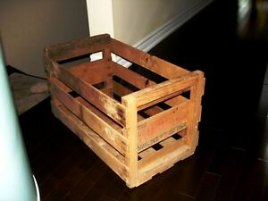 1940s-50s BUXOM MELONS CRATE BOX Rare Full Size NOT MINIATURE Kitchener / Waterloo Kitchener Area image 4
