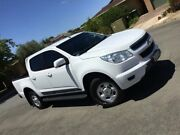 2016 Holden Colorado RG MY16 LS Crew Cab White 6 Speed Sports Automatic Utility Nailsworth Prospect Area Preview