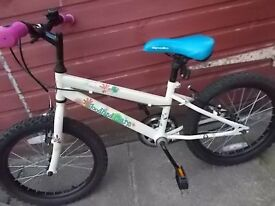 small girls bike 'woodland'