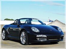 2006 Porsche Boxster 987 S Black Sports Automatic Convertible North Curl Curl Manly Area Preview