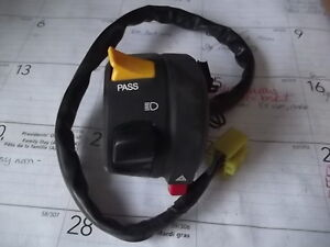 LH switch assy for GSXR1000