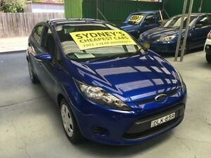 2013 Ford Fiesta WT CL Blue 6 Speed Auto Dual Clutch Hatchback Five Dock Canada Bay Area Preview