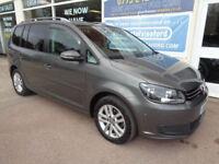 Volkswagen Touran 1.6TDI 7 Seater DSG 2014 BlueMotion SE Full S/H P/X