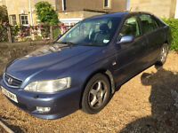 Honda Accord 2.0i SE Executive Automatic, 2001. 79,330 miles