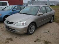 2003 Acura EL Premium - Winnipeg Kia *As Is, Where Is*
