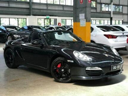 2011 Porsche Boxster 987 S Convertible 2dr PDK 7sp 3.4i [MY12] Black Sports Automatic Dual Clutch