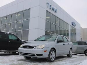 2007 Ford Focus S, 400A, MANUAL, CLTH, FWD