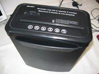 Paper shredder machine heavy duty BUSH brand