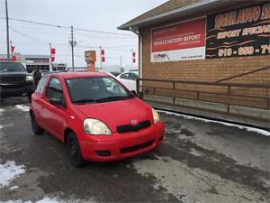 2004 Toyota Echo CE**COUPE***5 SPEED***ONLY 153 KMS***AS IS