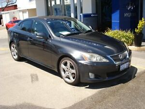 2008 Lexus IS250 GSE20R 08 Upgrade Sports Luxury Grey 6 Speed Sequential Auto Sedan Northam Northam Area Preview