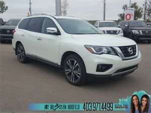 2018 Nissan Pathfinder Platinum ** Executive demo **