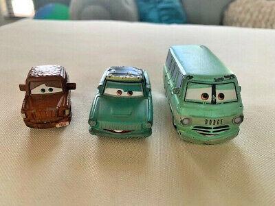 Disney Pixar Cars Rust-Eze Rusty, Dusty and Fred